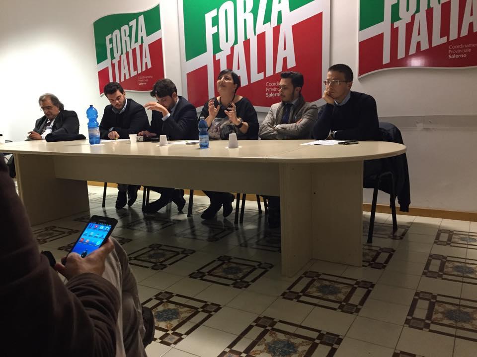Dibattito dei giovani alla sede FI di Salerno